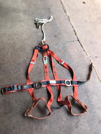Climber Safety harness with lanyard Stone Mountain, 30088