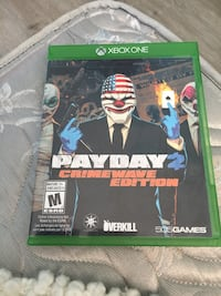 Payday Xbox one game  Edmonton, T5L 1J4