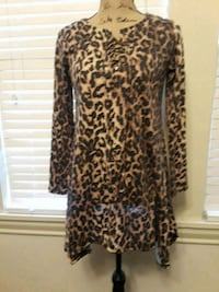 Ladies Leopard Tunic Troup, 75789