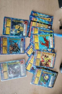 Random digimon cards  Vaughan
