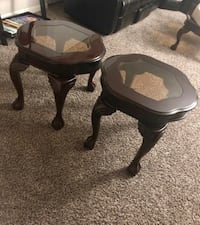 two black wooden side tables Silver Spring, 20906