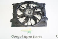 03 MERCEDES BENZ E320 FRONT FAN ASSEMBLY #4727 Irving