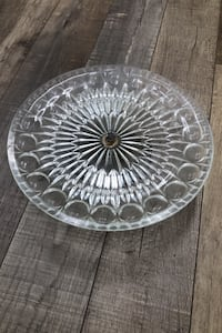 Classic Glass Cake Stand Los Angeles, 91311