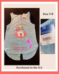 LOTS OF GIRLS 7/8 NWT CLOTHES FROM THE U.S London, N5Z 2S8