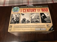 A Century of War from the U.S. National Archives. This is unopened and has 24 DVDs. It includes rare films that have never before seen on DVD. Each picture describes what is on each DVD New York, 10306