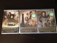 DVD Lord Of The Rings Toronto