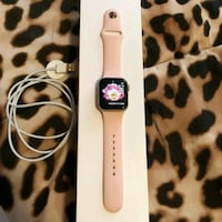 Rose gold series 3 Apple Watch Boston