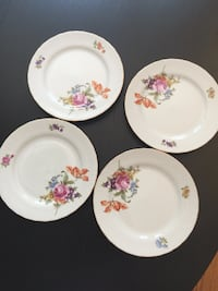 Antique Germany dessert plates