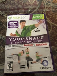 XBOX 360 KINECT YOUR SHAPE FITNESS EVOLVED (Scarborough or Downtown) Toronto, M1S 1V9