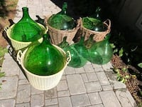 Assorted Demijohns all for $100 Markham, L3T