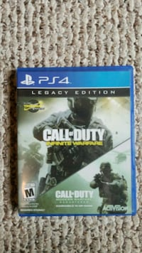 PS4 game, CALL of DUTY