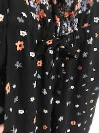 XS Floral jumpsuit with pockets