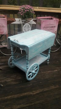 Tea Cart Repurposed  440 mi