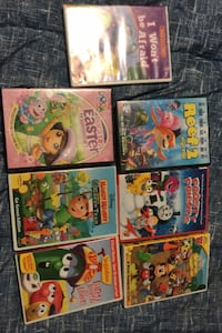 Kid Shows and Movie DVD's