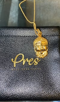 "Gold Presidents Pendant and 20"" Chain Arlington, 22206"