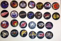 Collectible Set of 26 NHL Bud Light Rubber Coasters London