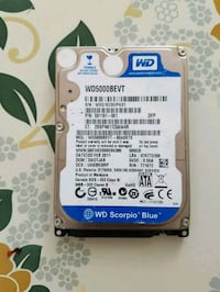 Western Digital sabit disk 500 gb