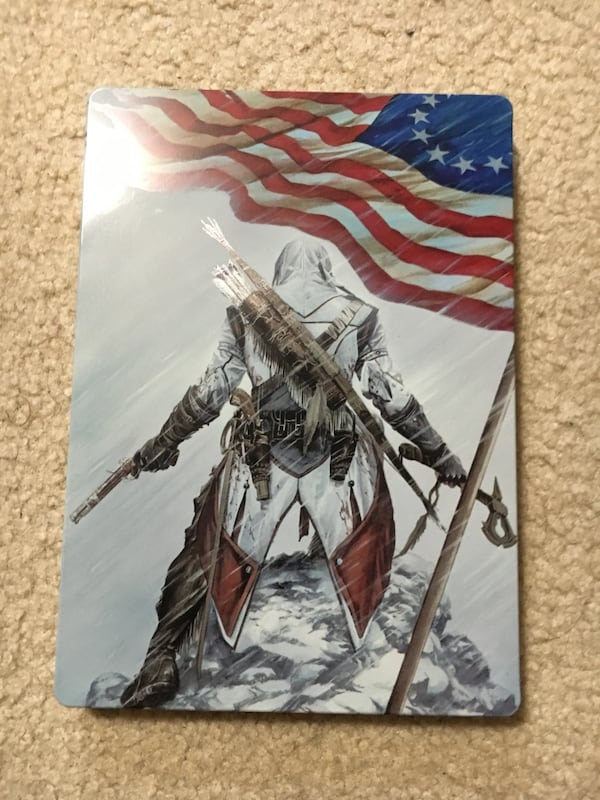 Assassins creed III (3) steelbook case RARE!!! dd886b4a-60df-472b-8073-4963c5531e9a