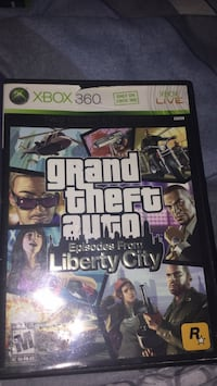 Grand Theft Auto Five Xbox 360 game case Lorton, 22079