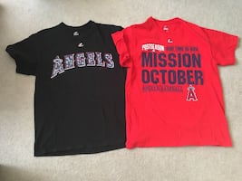 2 Angels T Shirts and a Cap, $3 for all.