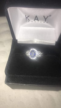 Kay Jewelers Blue Saphire Ring Winchester, 40391