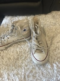 par hvite Converse All Star high-top sneakers Tønsberg, 3112