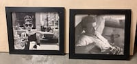 two black wooden photo frames Simi Valley