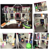 Playmobil mall set (pieces and manual included) Brampton, L6X 0E5