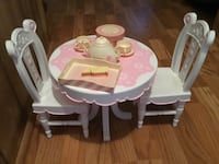 baby's white and pink high chair Piedmont, 29673
