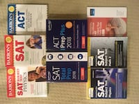SAT, ACT, and SAT subject test books San Diego, 92130