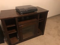brown wooden cabinet with mirror Oxon Hill, 20745