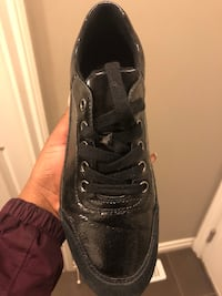 Geox Patent leather and suede sneakers SIZE 8 Edmonton, T5J