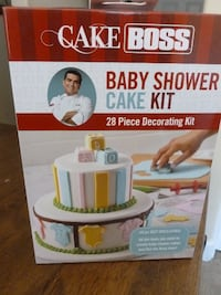 Cake Boss Baby Shower Cake Kit - sealed