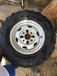Maxxis m977 four-wheeler tires and rims rarely been used  Ridgeland, 39157