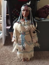 Native American Doll. She is beautiful and I wouldn't give her up if I didn't need to. Lansing, 48917