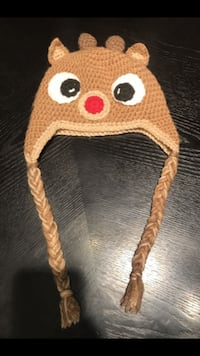 Toddlers Reindeer beanie  ROUNDROCK