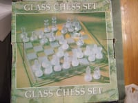 glass chess set Mississauga