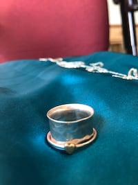 Real Antique Gold Heart Ring