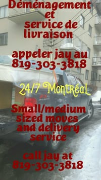 Furniture delivery Dorval