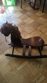 brown wooden rocking horse Alexandria, 22311