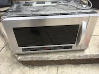 white and black microwave oven Georgetown, L7G 6M3