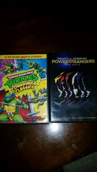 Original Tmnt episodes and Power Rangers movie Roselle, 60172
