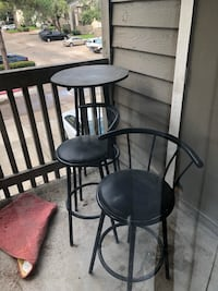 Patio table & chairs Houston, 77095