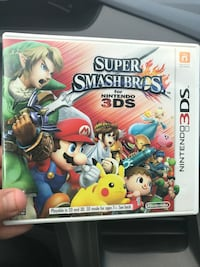 *PRICE IS NEGOTIABLE* Super smash bros for Nintendo 3ds