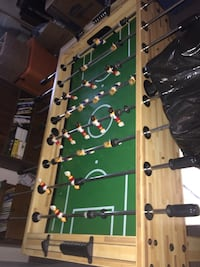 green and brown foosball table Bexley, 43209