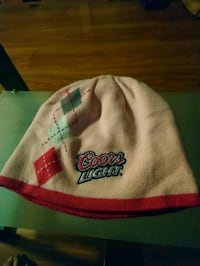 Reversible Coors Light winter touque
