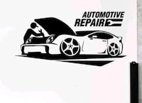 Automotive repairs and Stereo system installation.