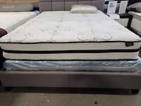 """New 10"""" Queen size pocket spring hybrid mattress tax included Hayward"""