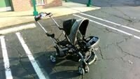 baby's black and gray stroller Lawrence Township, 08648