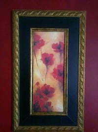 red poppies painting Silver Spring